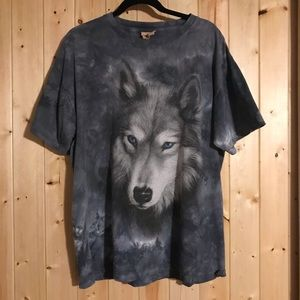 Wolf Band Tee by The Mountain